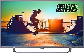 Philips 50pus6262 / 05 50-Pulgadas 4k Ultra HD Smart TV con ambilight 2 Caras, HDR +, TDT Juego: Amazon.es: Electrónica