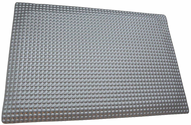 Rhino Mats RFLX3660DSM Reflex Anti Fatigue Mat, 3' Width x 5' Length x 1'' Thickness, Metallic