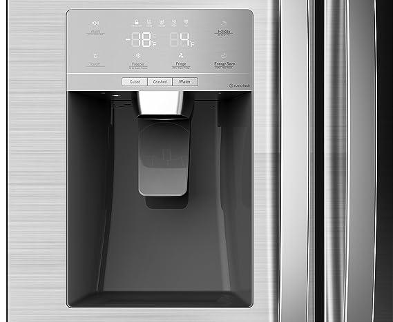 Side By Side Kühlschrank Richtig Befüllen : Hisense sbs a eliw side by side cm höhe kwh