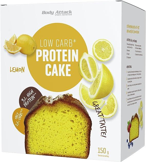 Preparado para Bizcocho Proteico LowCarb Body Attack Limón ...