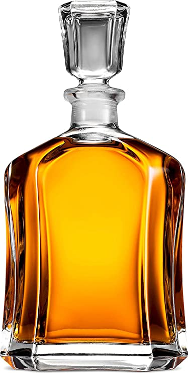 Paksh Novelty Capitol Glass Decanter With Airtight Geometric Stopper Whiskey Decanter For Wine Bourbon Brandy Liquor Juice Water Mouthwash 23 75 Oz Amazon Ca Home Kitchen