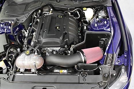 2015 – 2017 Mustang Ecoboost JLT aire frío ingesta