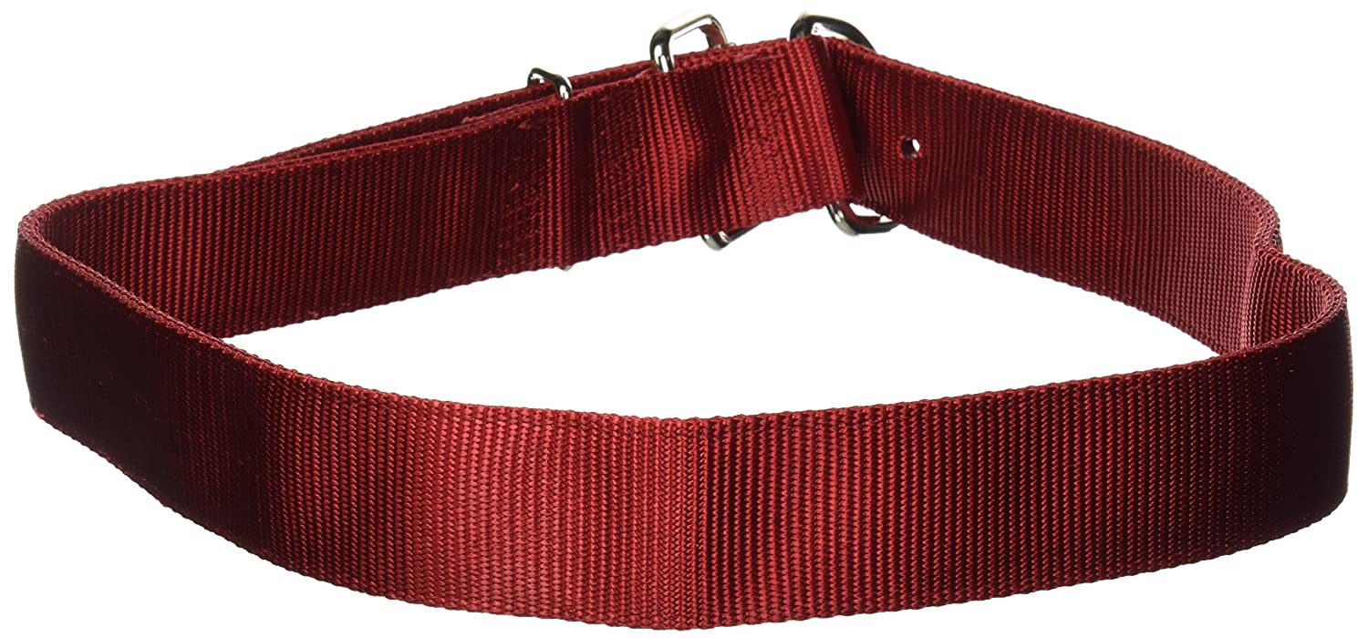 Hamilton Deluxe Double Thick Nylon Cow Collar, 1-3 4 by 44-Inch, Red