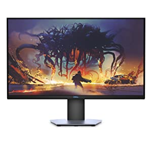 Dell S-Series 27-Inch Screen LED-Lit Gaming Monitor (S2719DGF); QHD (2560 x 1440) up to 155 Hz; 16:9; 1ms Response time; HDMI 2.0; DP 1.2; USB; FreeSync; LED; Height Adjust, Tilt, Swivel & Pivot
