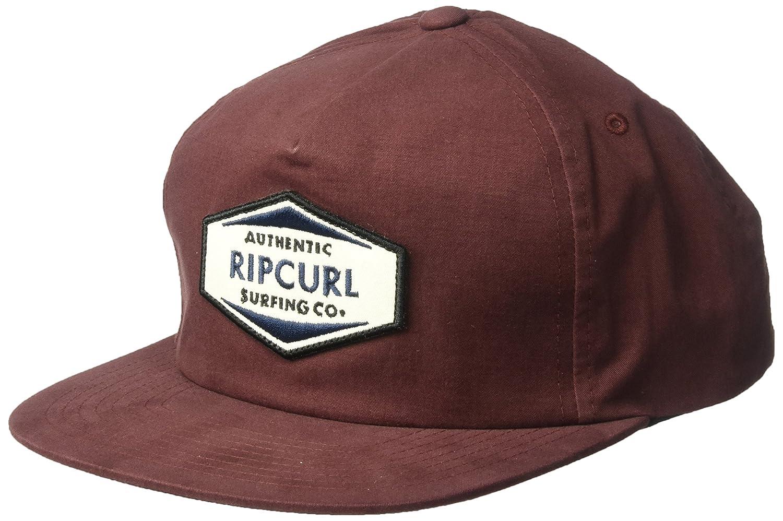 Rip Curl Hombres Station Snapback Gorra de béisbol - Rojo ...