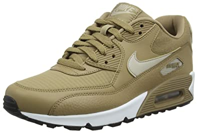 the best attitude 03e2c 55903 Nike WMNS Air Max 90, Chaussures de Fitness Femme, Multicolore  (Canteen String