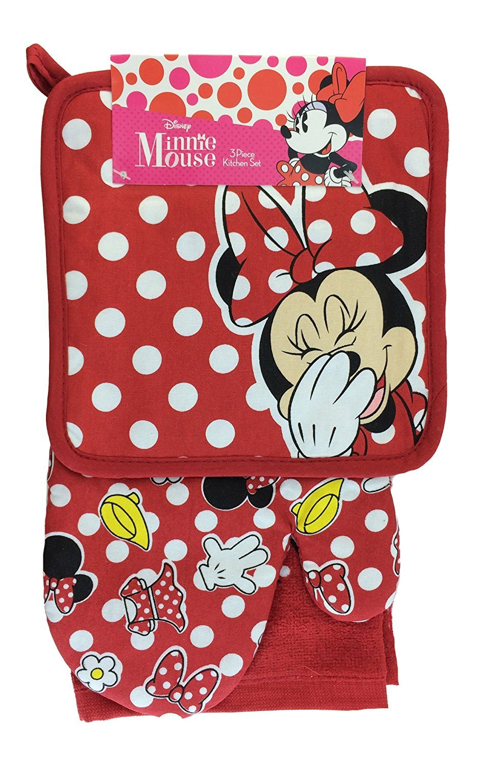 Disney Minnie Teile Minnie Mouse 3 Stück Küche Set: Amazon.de: Küche ...