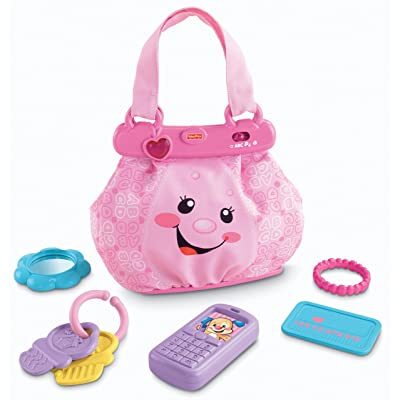 Fisher-Price Laugh & Learn My Pretty Learning Purse: Toys & Games