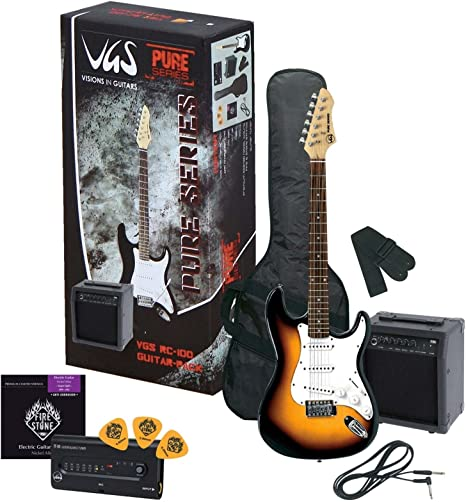 VGS GUITARRA ELECTRICA PURE DE SERIES RC DE 100 GUITAR PACK 0685 ...