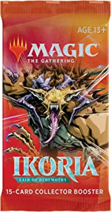 Magic: The Gathering Ikoria: Lair of Behemoths Collector Booster | 15 Card Booster Pack | Stylized Collectible Cards