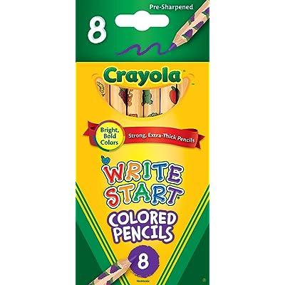 Crayola Colored Pencils (CYO684108): Toys & Games