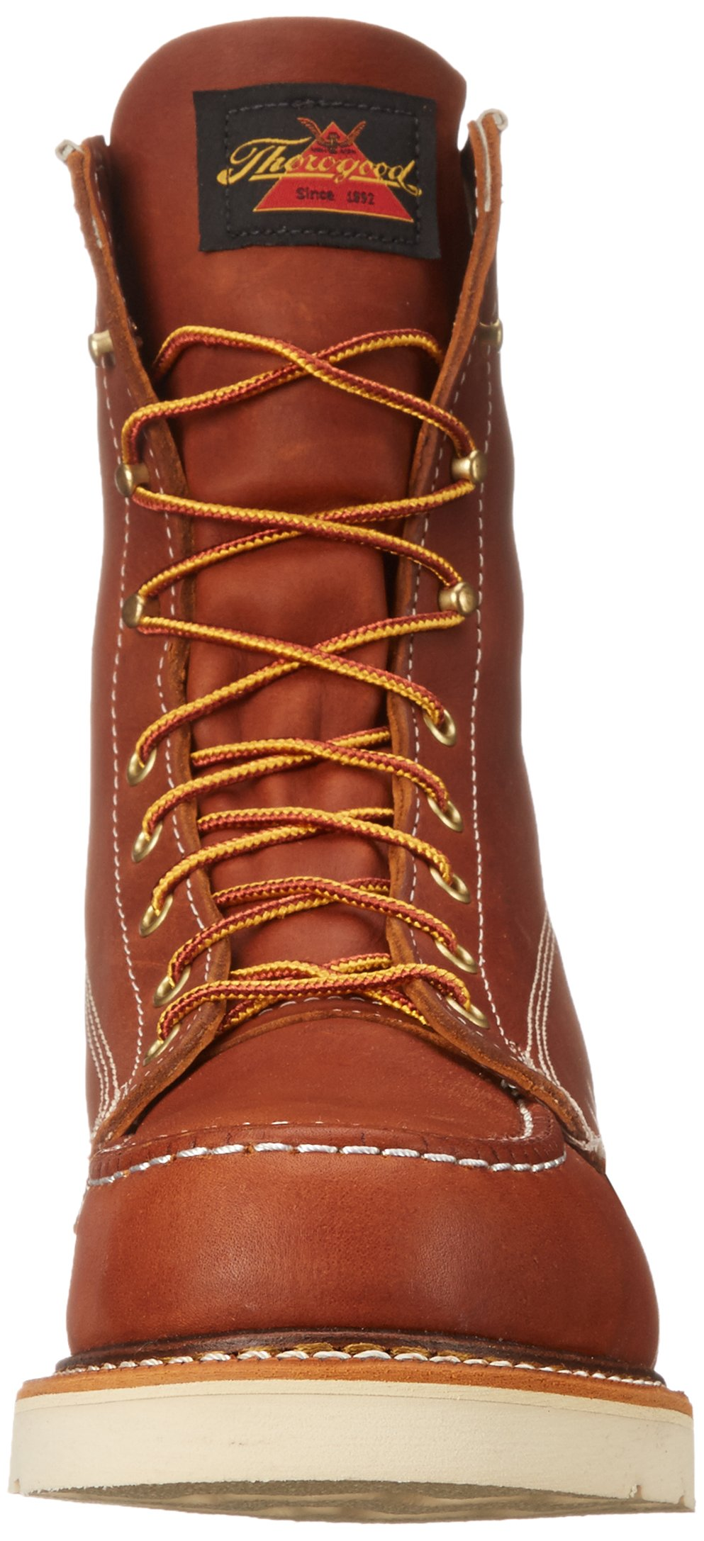 Thorogood Heritage 8'' Safety Toe Work Boot, Tobacco Oil Tanned, 10 EE US by Thorogood (Image #4)
