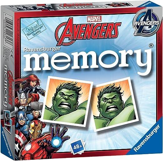Marvel Avengers Memory Game Ages 3+ Hulk Iron Man Captain America: Amazon.es: Juguetes y juegos