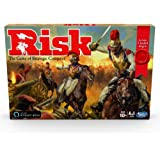 Risk Game With Dragon; For Use With Amazon Alexa; Strategy Board Game Ages 10 and Up; With Special Dragon Token