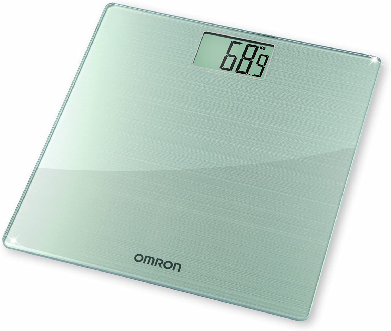 OMRON HN288 - Báscula digital de cristal, transparente