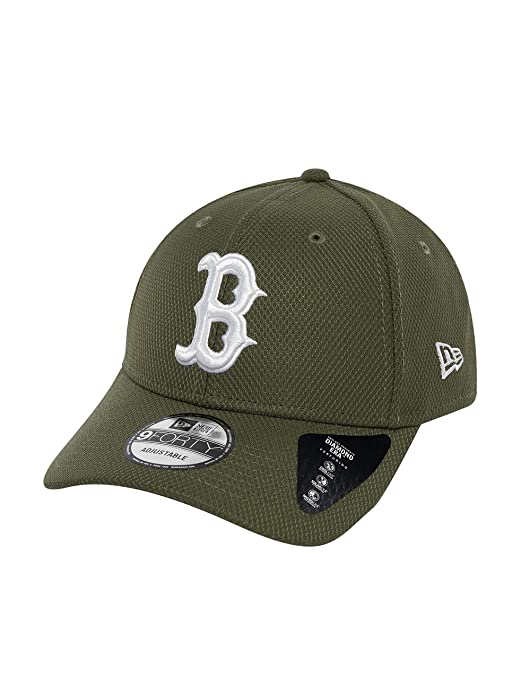 5c796c0c6f3fa A NEW ERA Gorra de béisbol 9FORTY Diamond Era Boston Red Sox Verde Oliva