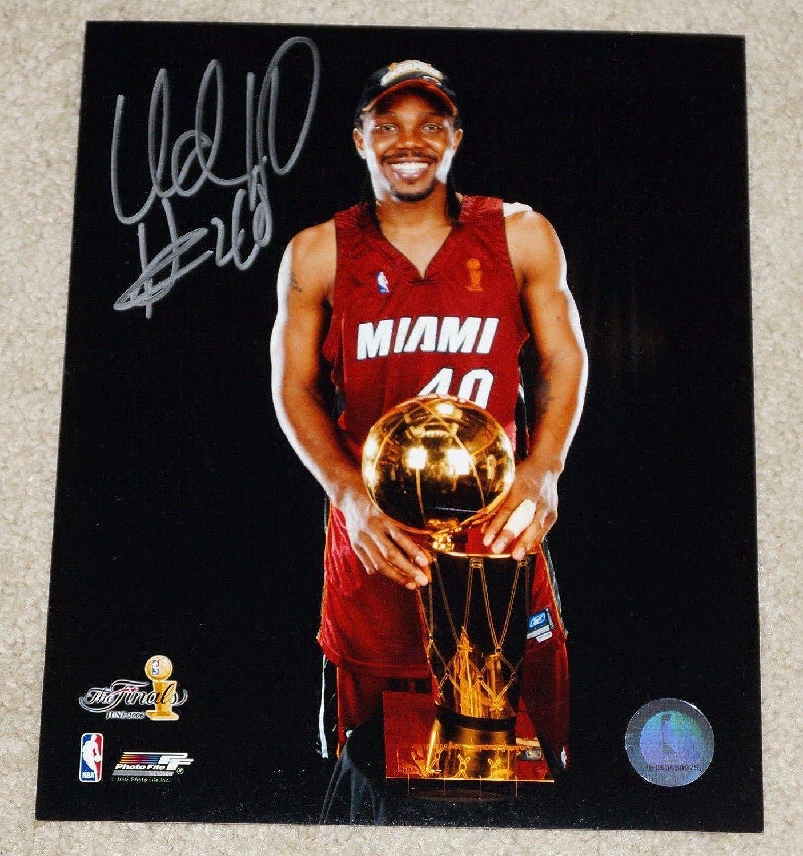 get cheap a3d95 00145 Autographed Udonis Haslem Photo - #40 8x10 - Champs ...