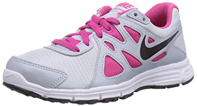 Nike Revolution 2 Kleinkinder Mädchen Trainer Schuhe Platin