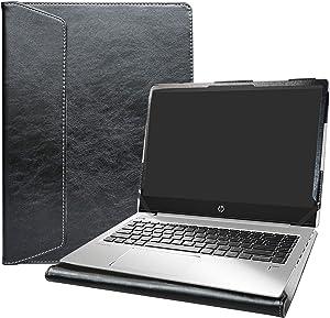 "Alapmk Protective Case Cover for 14"" HP ProBook 440 G6/HP ProBook 440 G7/HP ProBook 445 G6/HP ProBook 445R G6/HP ProBook 445 G7 Laptop[Note:Not fit ProBook 440 G5 G4 G3 G2],Black"