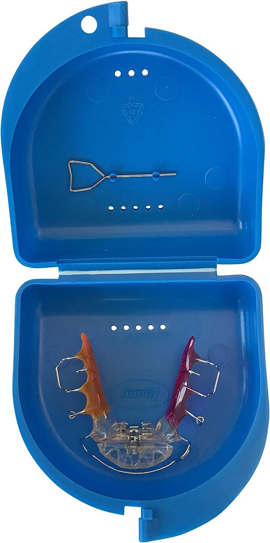 Caja para prótesis dental, frenillos, ortodoncia, aparato dental, protector bucal (Sky Blue): Amazon.es: Salud y cuidado personal