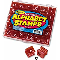Learning Resources LER0598 Lowercase Alphabet and Punctuation Stamps