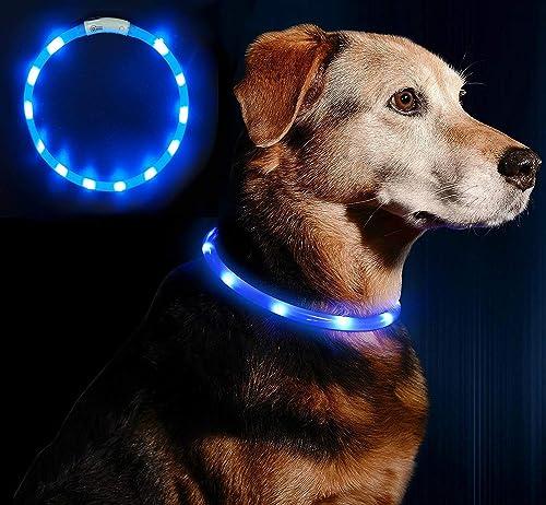 Anicoll-LED-Leuchthalsband-Hund