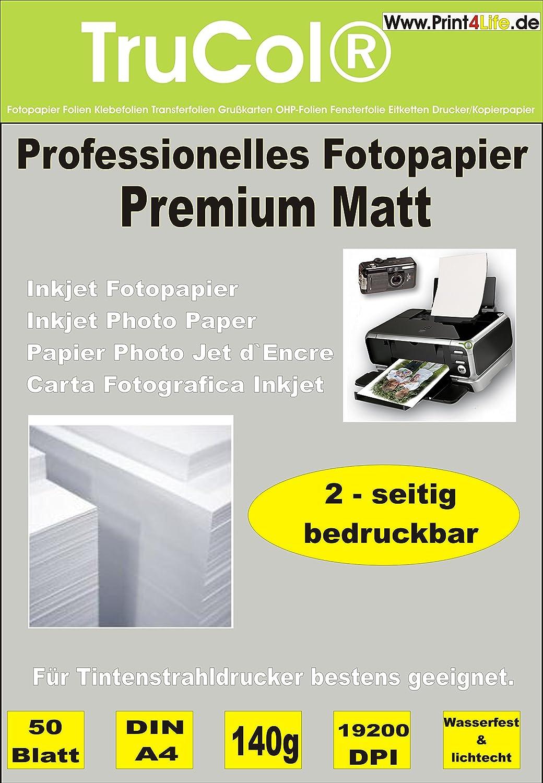 150 Bl Fotopapier Photopapier A4 140g beidseitig super hochglänzend High Glossy