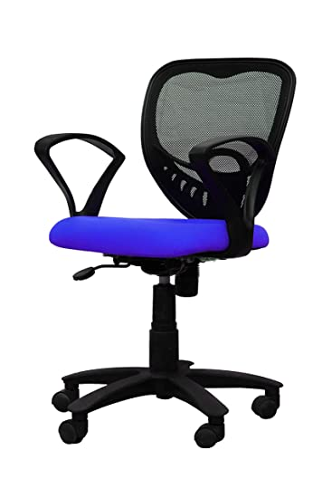 APEX Chairs� Delta MB REVOLVING Office Chair with Blue SEAT