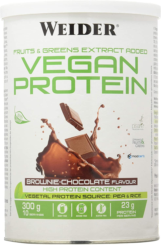 Weider Weider Vegan Protein Chocolate 300Gr 1 Unidad 300 g ...