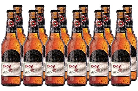 CervezaBox - 6 Spanish Beers Winner World Beer Challenge Estrella Galicia  1906 Reserva Especial, Red