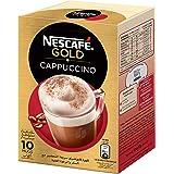 NESCAFE GOLD CAPPUCCINO Instant Foaming Coffee Mix 17g (10 Sticks)