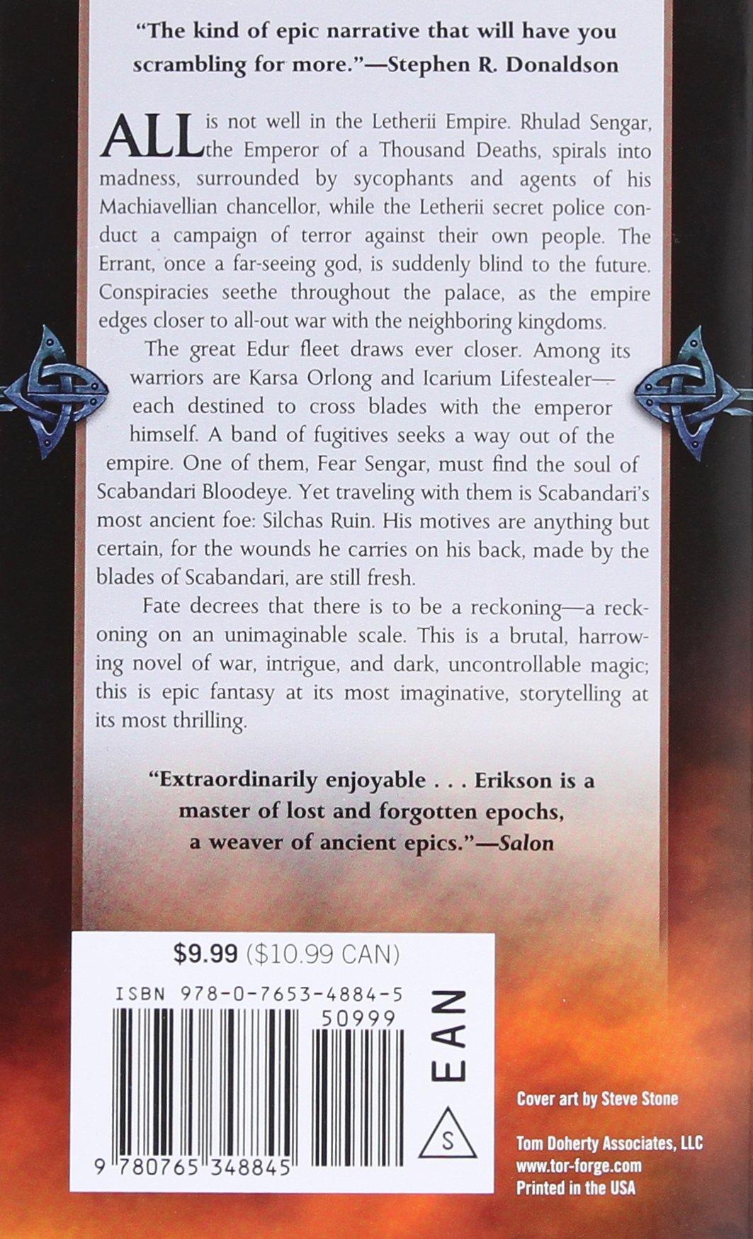 Reaper's Gale: Book Seven Of The Malazan Book Of The Fallen: Steven  Erikson: 9780765348845: Amazon: Books