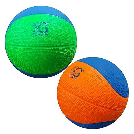 Macro Giant Juego de 2 balones de baloncesto de espuma suave y ...