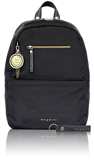 46a9d5eb0bd9b bugatti Contratempo Nylon Rucksack für Damen - edle Tasche in schwarz