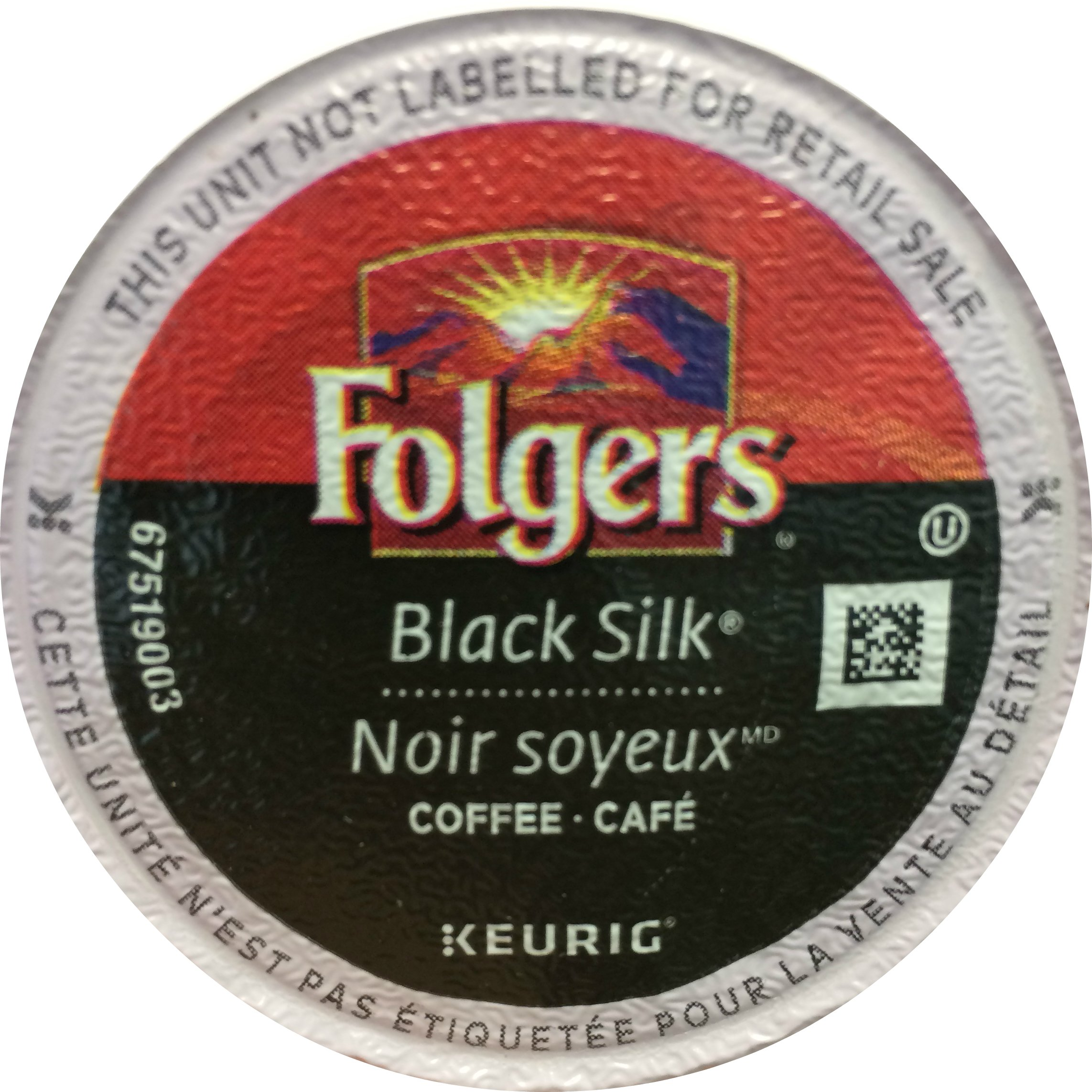 Folgers Coffee, Black Silk, K-Cups for Keurig Brewing Systems (120 count) by Folgers
