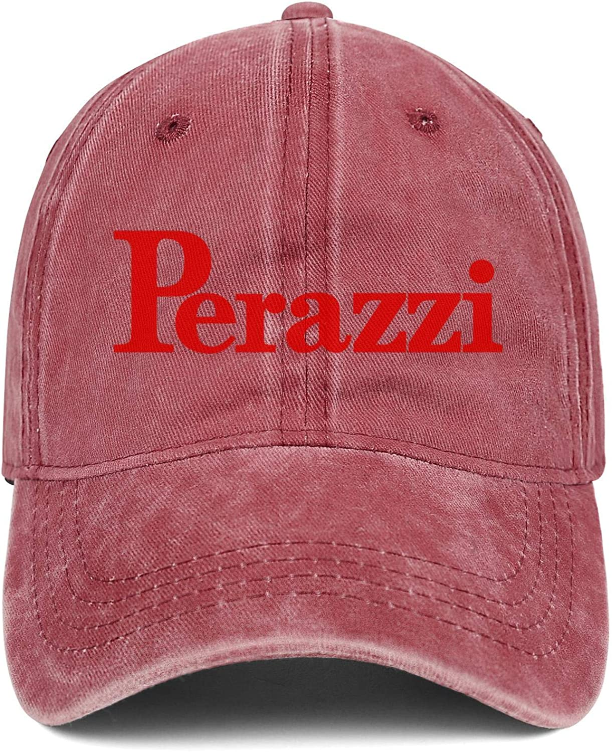 Hat for Mens Womens Baseball Hat Adjustable Outdoor Strapback Hat Hiphop Hat Cap Heart Wolf Perazzi-Logo