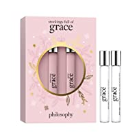 philosophy stockings full of grace - amazing grace and pure grace rollerball duo, 0.66 fl. oz.