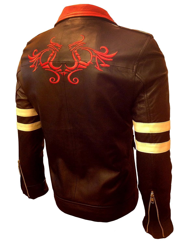 Prototype Alex Mercer Gaming Black Men's Leather Jacket- BNWT