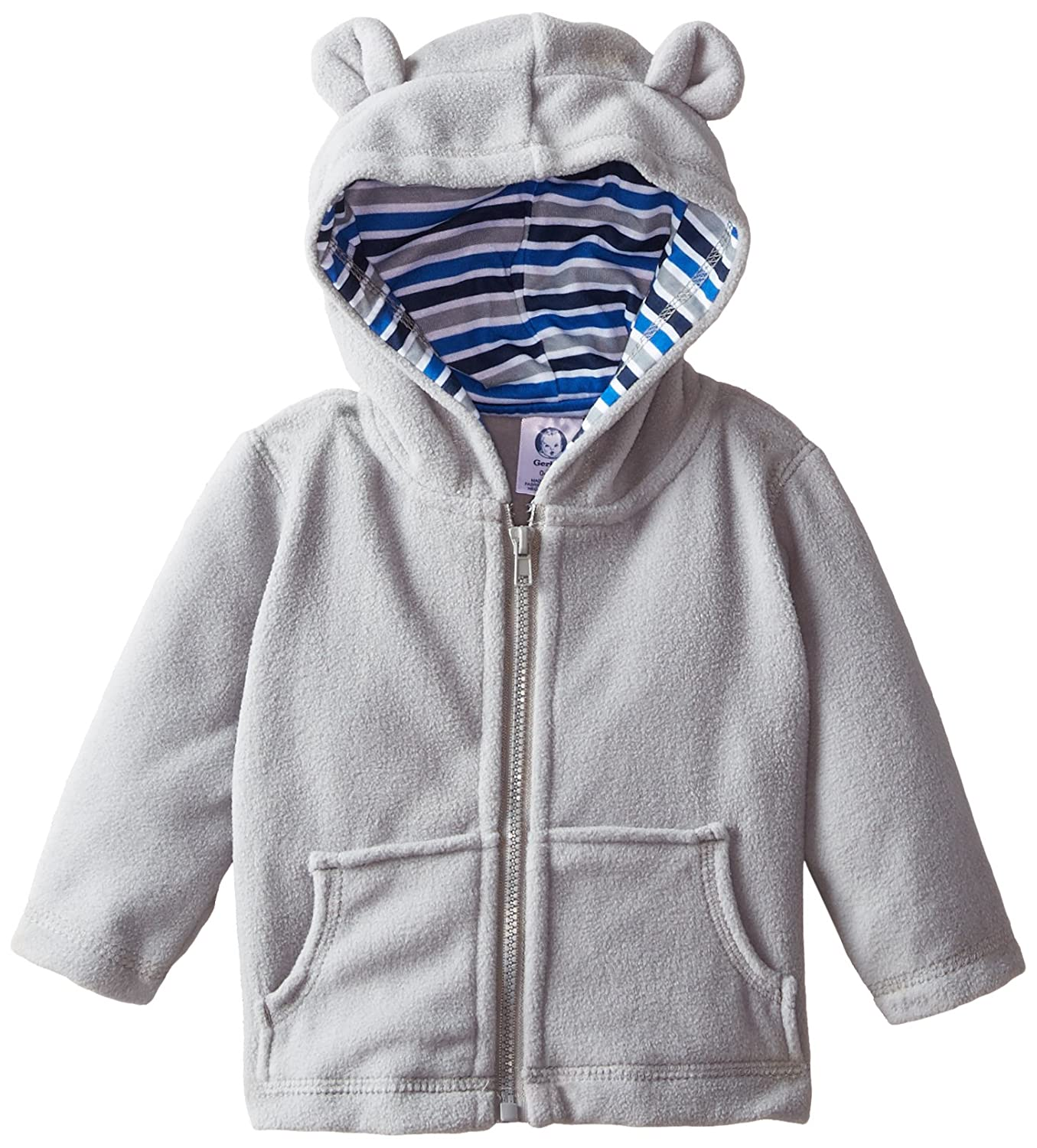 Gerber Baby Boys' Hooded Micro Fleece Jacket Gerber Children' s Apparel