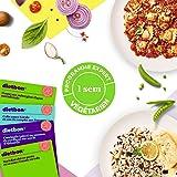 Repas Minceur - Box Minceur Végétarienne - 1 semaine - 4 Repas Par Jour – Ingrédients 100% Naturels – Perdez 0,85kg /semaine *