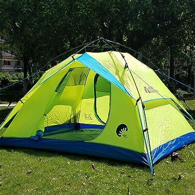 Équipement d'extérieur parcs et loisirs équipement extérieur Camping 3–4personnes Tente Tente Camping Automatique coupe-vent Quarters