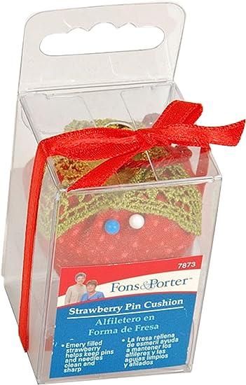 Fons and Porter Tomato Novelty Pin Cushion