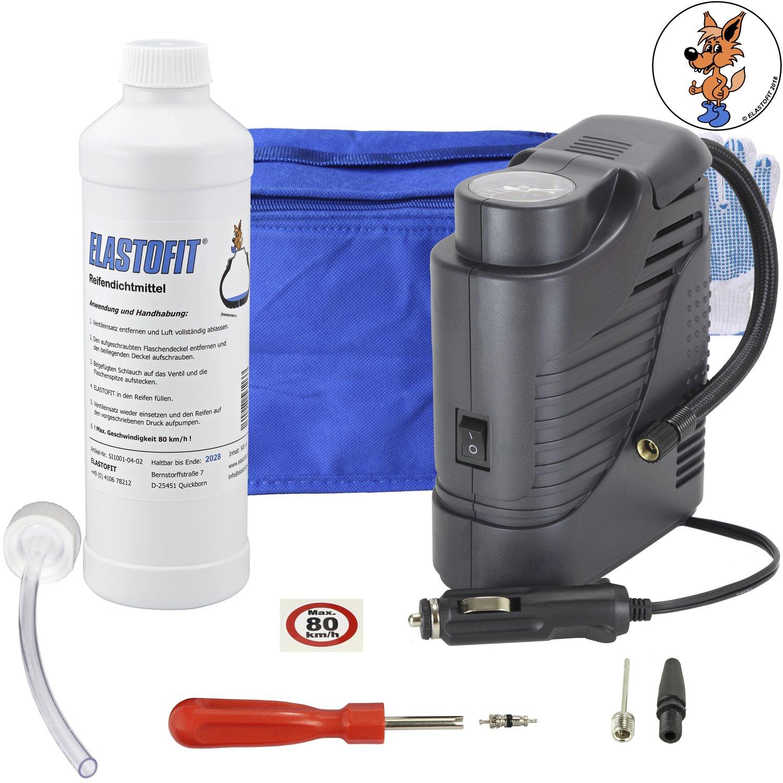 Elastofit Basic S - Kit di Riparazione Foratura Pneumatici, 500 ml, sigillante CB