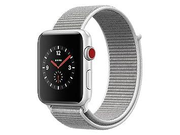 Apple Watch Series 3 Reloj Inteligente Plata OLED Móvil GPS (satélite) - Relojes Inteligentes