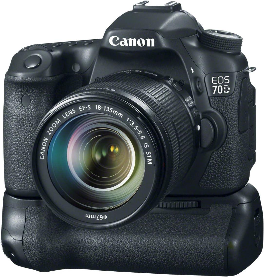 Canon EOS 70D - Cámara réflex de 20.2 MP (Pantalla táctil abatible ...