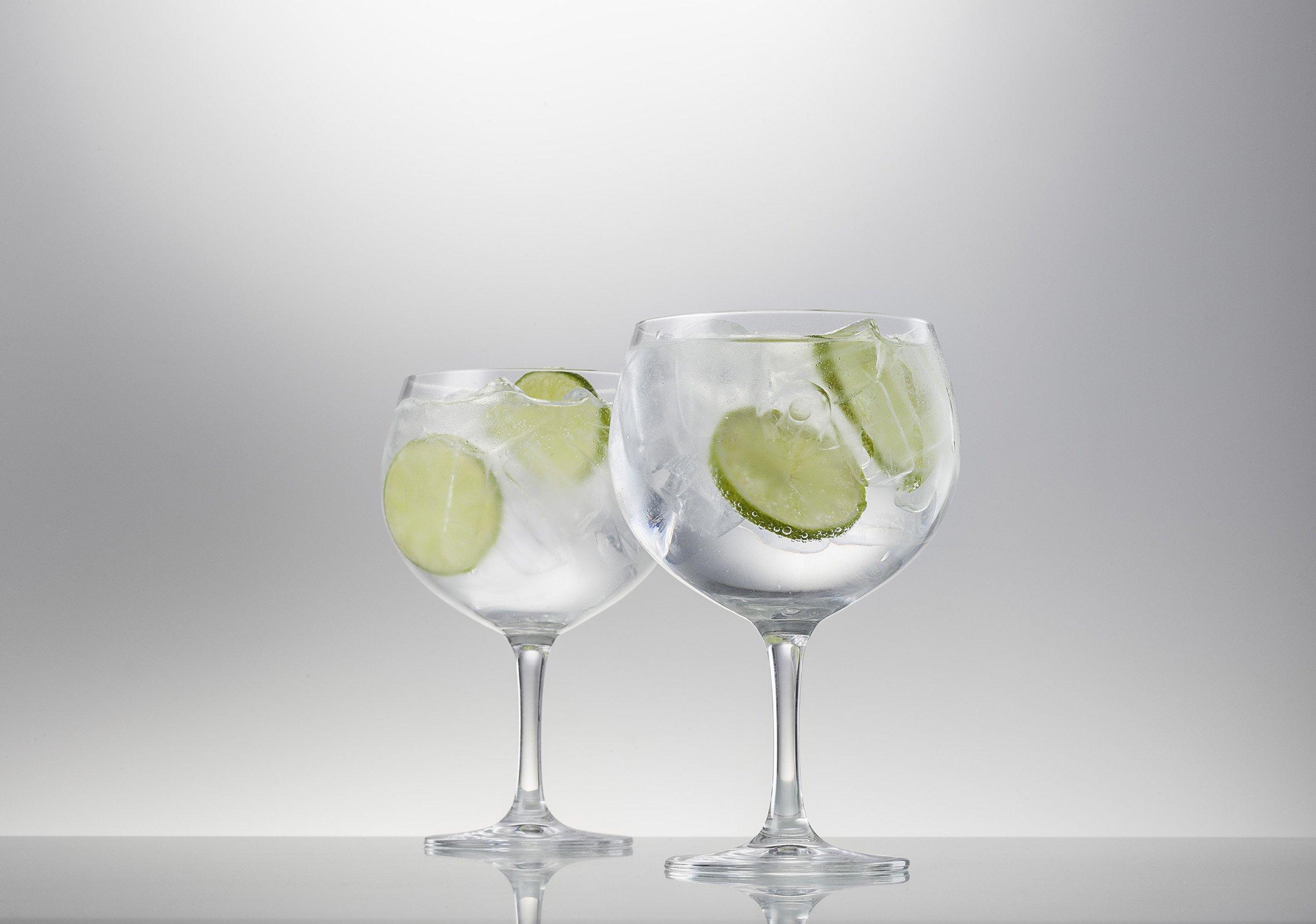 Schott Zwiesel Tritan Crystal Glass Barware Bar Special Sangria Margarita Glasses (Set of 6), 23.5 oz, Clear