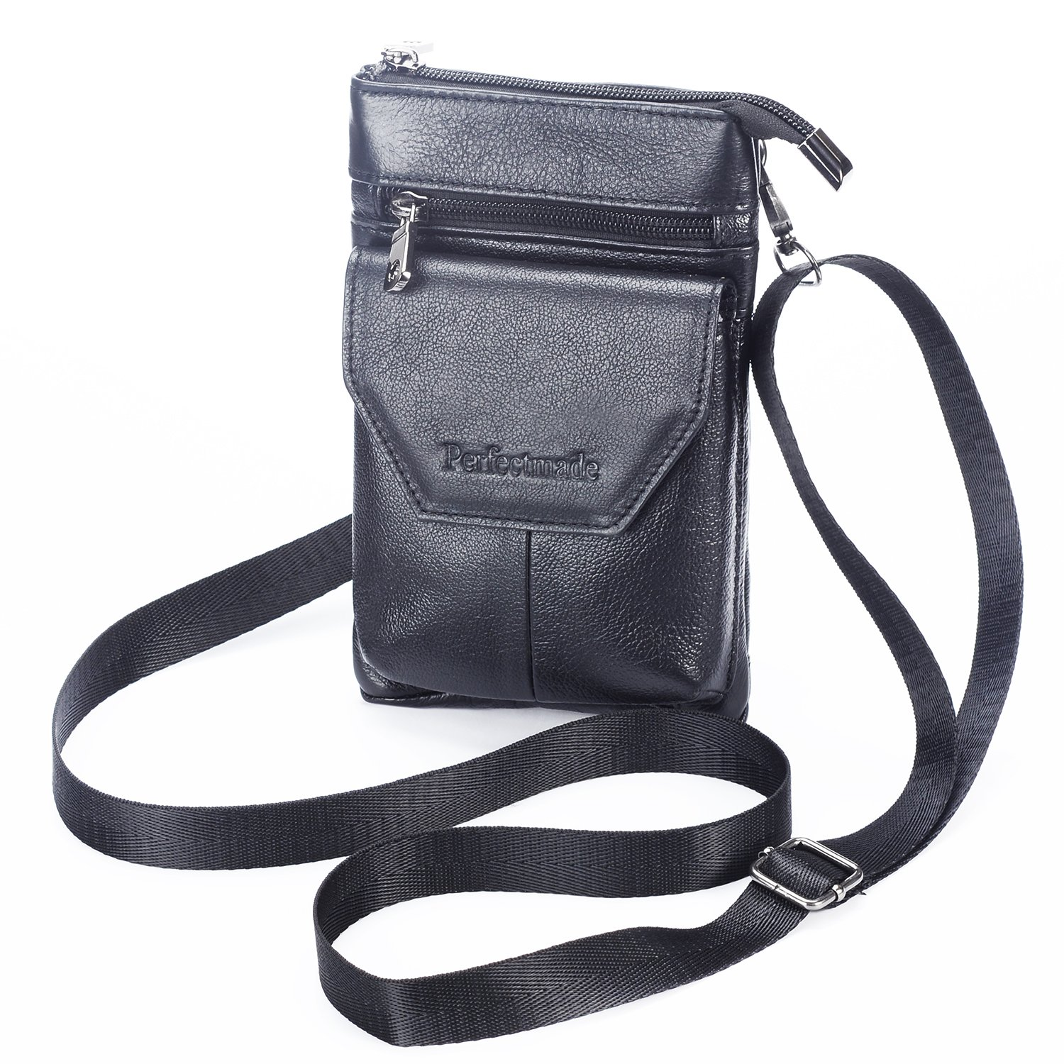 Cell Phone Belt Pouch Holder Caseleather Small Crossbody
