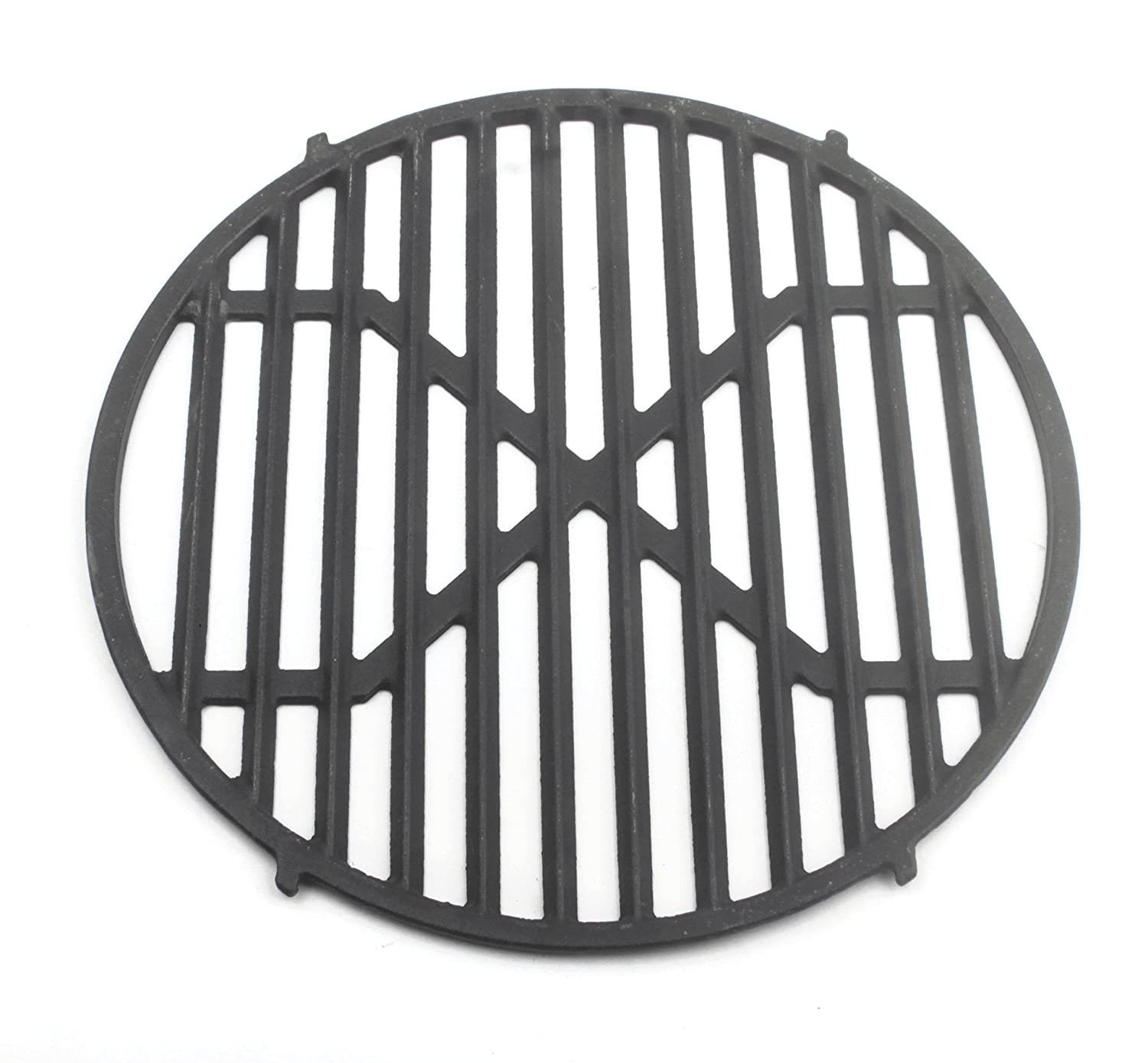 Cast Iron Grate Upgrade for Cooking Grates Approximately 30 cm with Hole Fit For Your Steak Grillen HeRo24