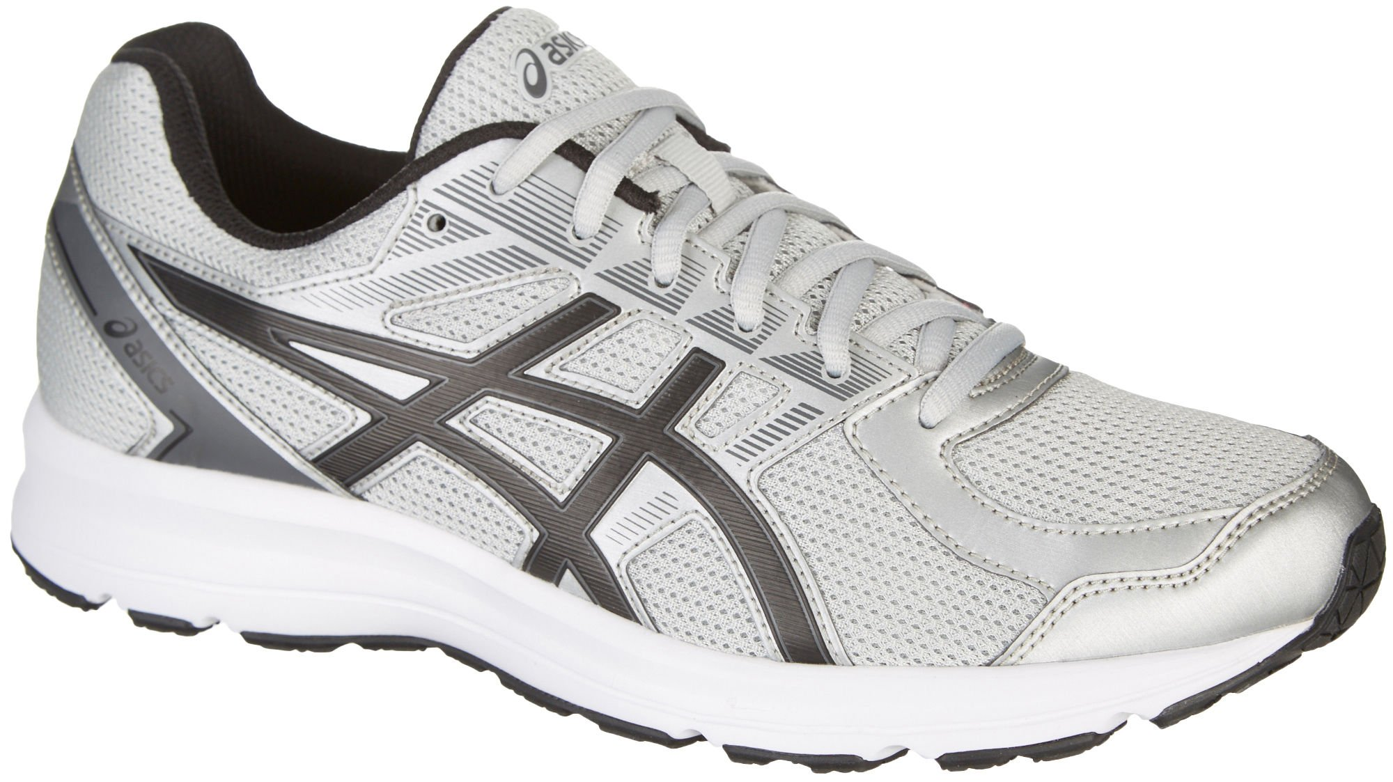 ASICS Men's Jolt Glacier Grey Black Carbon 9.5 D(M) US