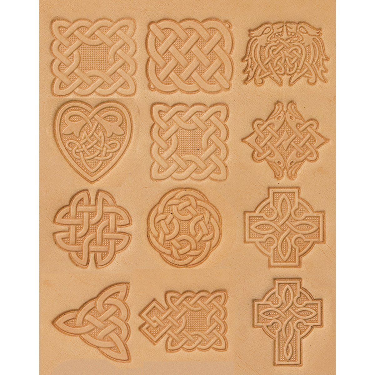 Tandy Leather Craftool Celtic 3-D Stamp Set 8161-00 by Tandy Leather Factory
